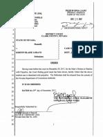 Judge's Order