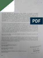 Carta de renuncia de miembros de comisión consultiva MINCULT