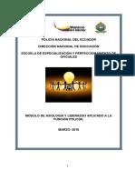"""1.- Axiologia y Liderazgo Aplicado a La Funciã""""n Policial"""