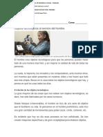 Lectura Tecnología Cuarto Basico