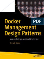 Docker Management Design Patterns Swarm Mode on Amazon Web Services