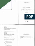 DOSTOIÉVSKI, F. - Memórias Do Subsolo-1