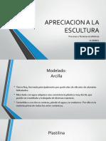 Apreciacion a La Escultura_diapositivas
