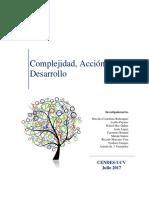Libro. Complejidad Acción y Desarrollo