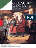 Mitre Emilio Una Primera Europa Romanos Cristianos y Germanos 400 1000