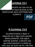 II Corintios - 013
