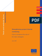 Methodology Tools and Methods Series Strengthening Project Internal Monitoring 200706 en 2