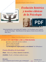 evolucinhistricayteorasclsicasdelapsicologa-160927035416