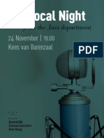 Vocal Night November 2017