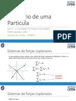 Aula 09 - Equilíbrio de uma partícula.pdf