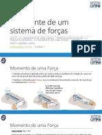 Aula 11 - Resultante de um sistema de forças.pdf