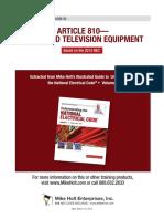 Radio and Television 2014NEC