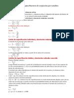 Métodos y Fórmulas Para analisis de un SGC