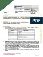 SSOst0018 Seleccion Distribución y Uso de EPPs v02