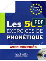 Les 500 Exercices De Phonétique.pdf