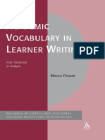 (Corpus and discourse) Magali Paquot-Academic vocabulary in learner writing _ from extraction to analysis-Continuum.pdf