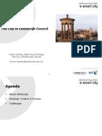 City of Edinburgh Council Smart Cities Presentation 02 March 09