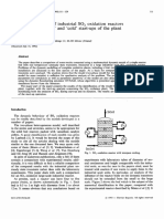 K. Gosiewski -- Dynamic modelling of industrial so2 oxidation reactor part 1.pdf