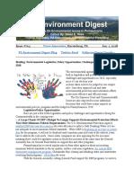 Pa Environment Digest Jan. 1, 2018