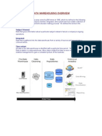 Data Warehousing Overview