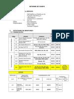 Informe de Campo 1era Quincena Setiembre