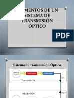 Elementos de Un Sistema de Transmisión Óptico