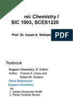 1-Organic Chemistry I, Introduction