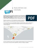 Comunicado de Prensa _ UNO Wifi Punta Del Este 2016