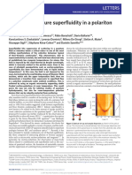 2007 - Room-temperature Superfluidity in a Polariton Condensate