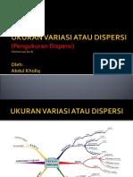 Ukutan Dispersi-12 Des 2013