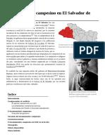 Levantamiento Campesino de 1932