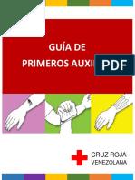 Guía Primeros Auxilios. Sociedad Venezolana de La Cruz Roja (1)