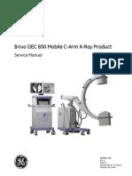 Brivo OEC 850 Mobile C-Arm X-Ray SM
