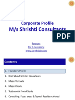 Corporate Profile - Shrishti Consultants 20