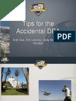 Arijit Das Accidental DBA