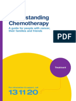 Understanding Chemotherapy Booklet August 2016