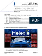 PTC04 Installation Guide USB Melexis