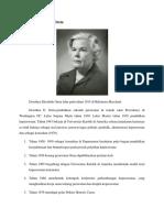 Biografi Dorothea E