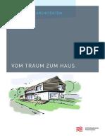 mappe Vom Traum Zum Haus