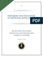 Preparing for the Future of Ai