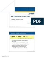 Performance Tips and Tricks With ABL