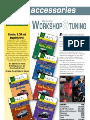 Bearmach Parts Ed12 | Axle | Rotating Machines