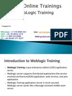 WebLogic Training | Oracle WebLogic Online Training - GOT