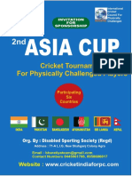 Proposal Asia Cup 2018