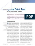 Dell Background Patrol Read