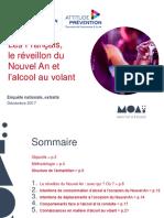 2017 APR AP Extrait Les Français Le Réveillon Du Nouvel an Et Lalcool Au Volant