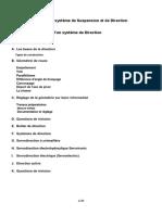 M15 Diagnostic d'Un Système de Suspension Et de Direction