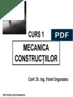 Curs1_Mecanica Constructiilor