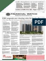 Financial Watch 28-12-2017