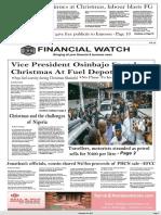 Financial Watch Dec 26 2017